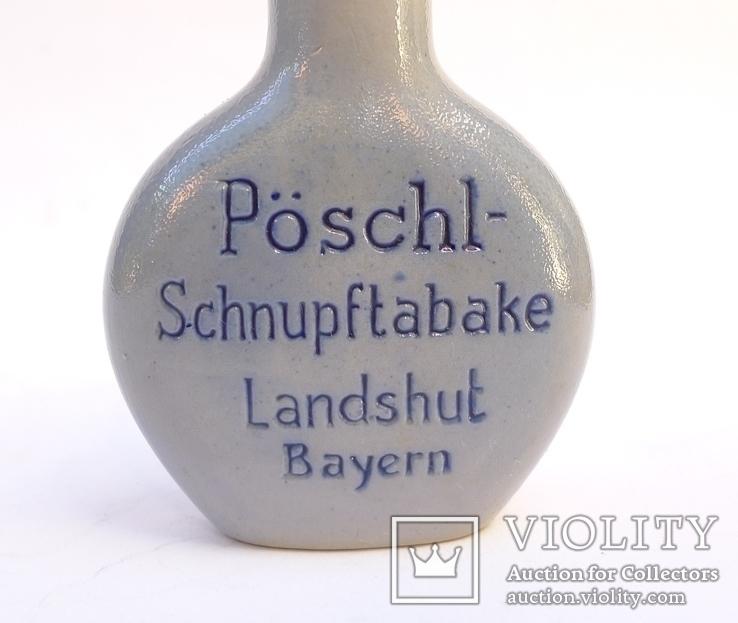 Немецкий флакон для нюхательного табака. Pöschl-Schmalzler, фото №8