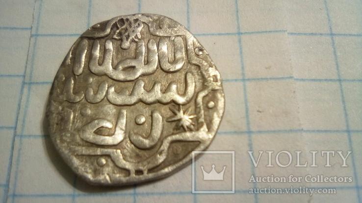 Зеркальное подражание под ранний данг хана Токтамыша, чекана Сарая ал-Джадида 782 г.х.