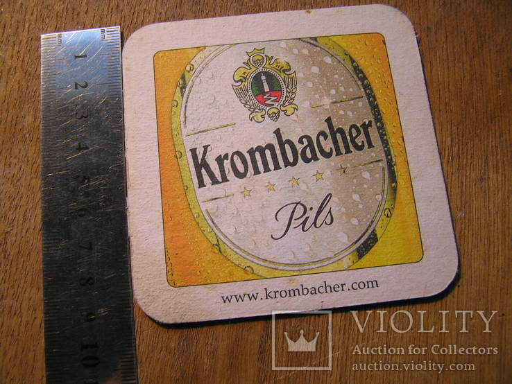 Бирдекель Krombacher, фото №5