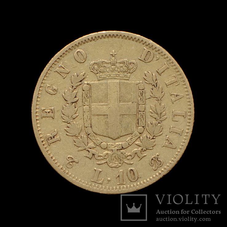 10 Лир 1863, Италия