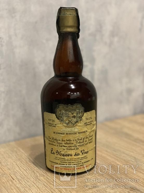 Whisky La Maison des Vins 1960s
