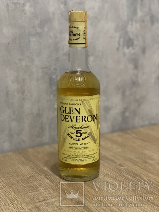 Whisky Glen Deveron 5 1980s