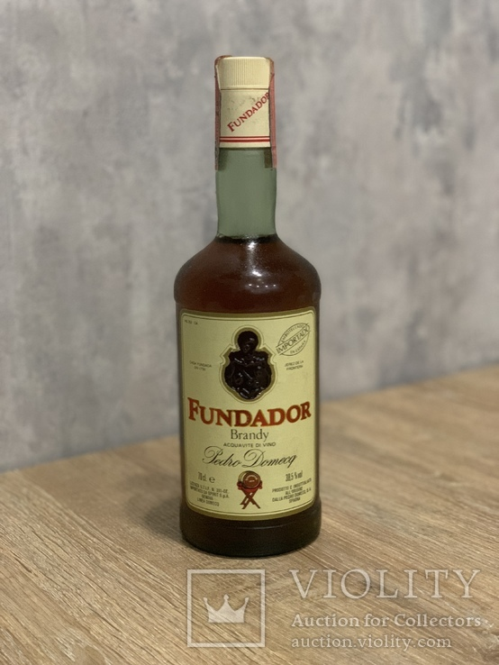 Brandy Fundador 1980/90s