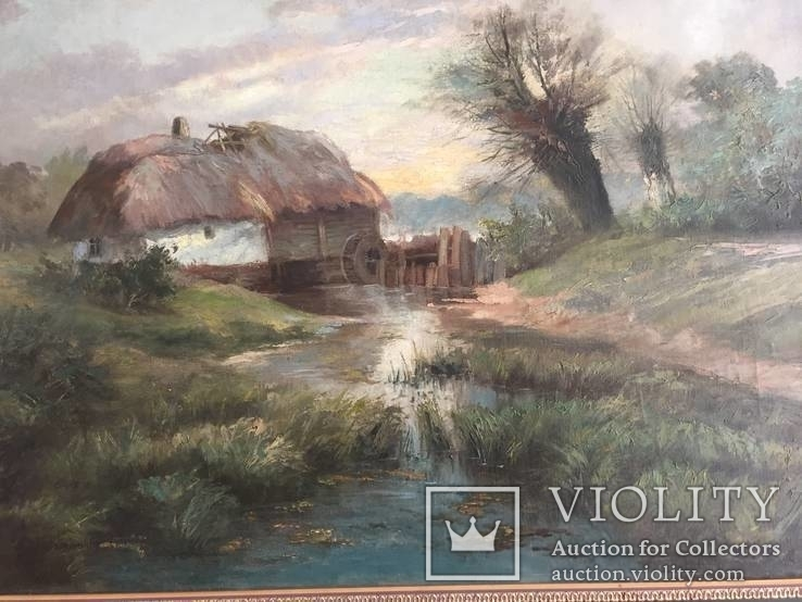 Картина (пейзаж) художник Ноаковски Станислав (1867-1928), фото №4