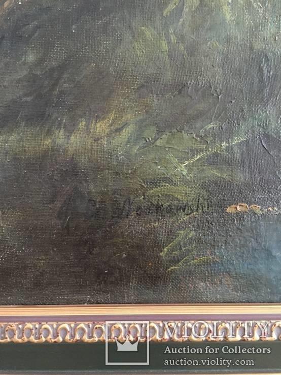 Картина (пейзаж) художник Ноаковски Станислав (1867-1928), фото №5
