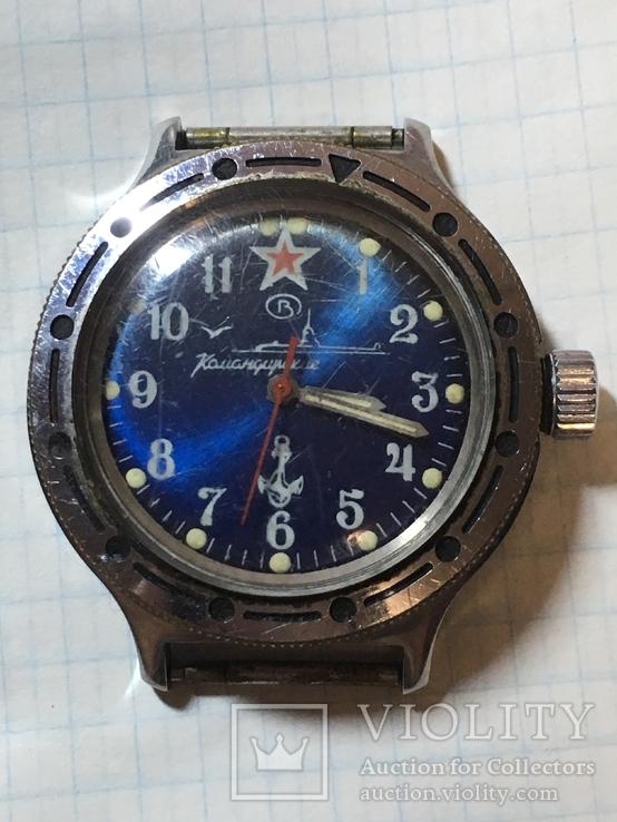 Часы Восток командирские амфибия.