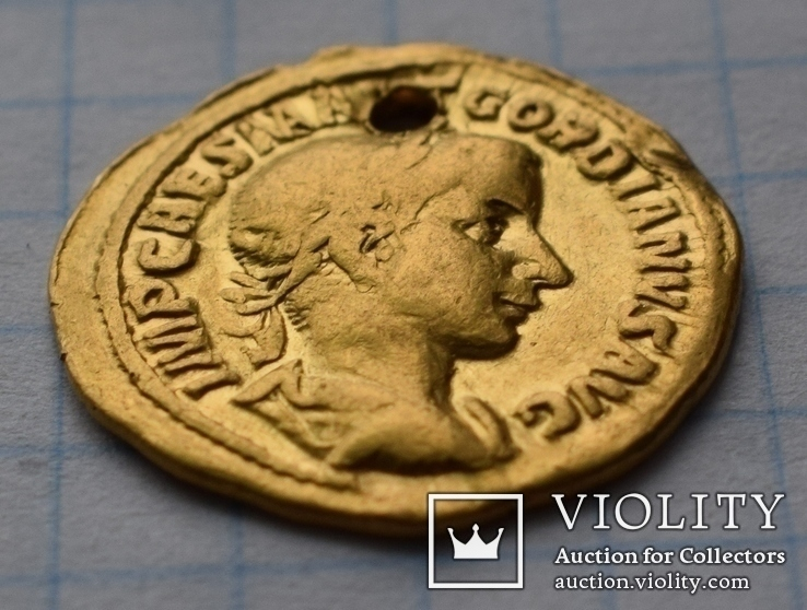 Ауреус Гордиан ІІІ 241-243 г.г.