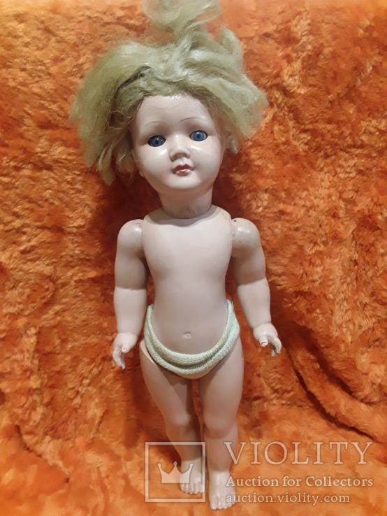 Старинная кукла 42 см.