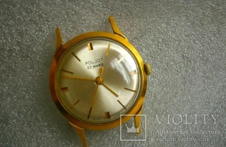 Часы Poljot . позолота.