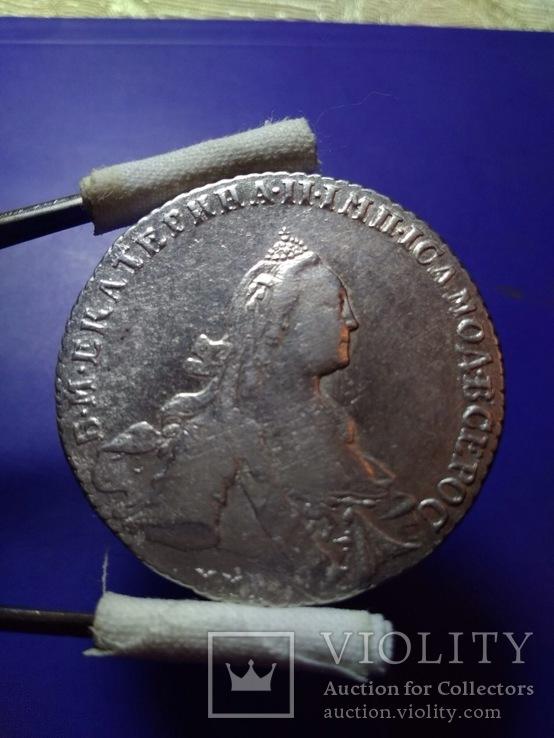 Рубль Екатерины II 1768г ММД