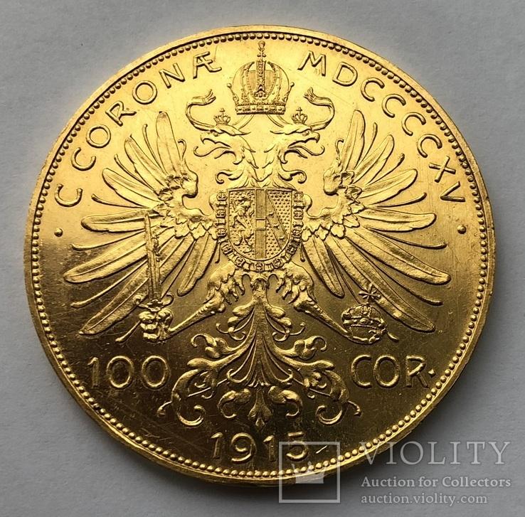 100 крон 1915 года. UNC.