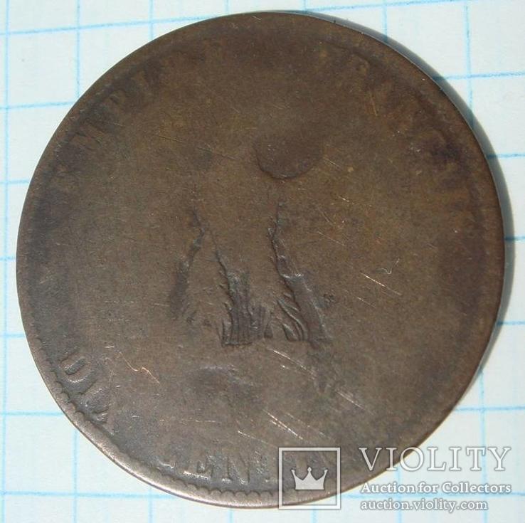 10 сантимов 1855 г, фото №3