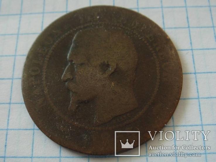 10 сантимов 1855 г, фото №4