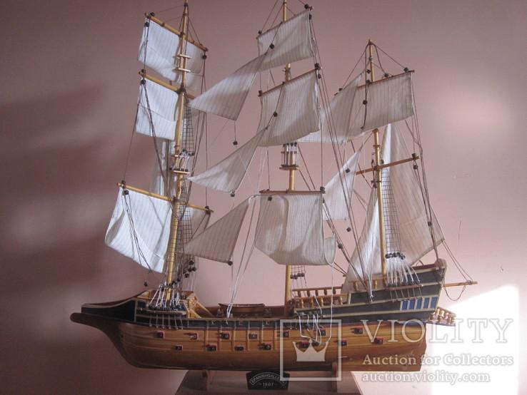 Модель парусника «SPANISH GALLEON 1607» . (под реставрацию ), фото №2