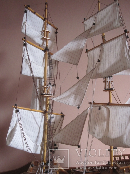 Модель парусника «SPANISH GALLEON 1607» . (под реставрацию ), фото №6