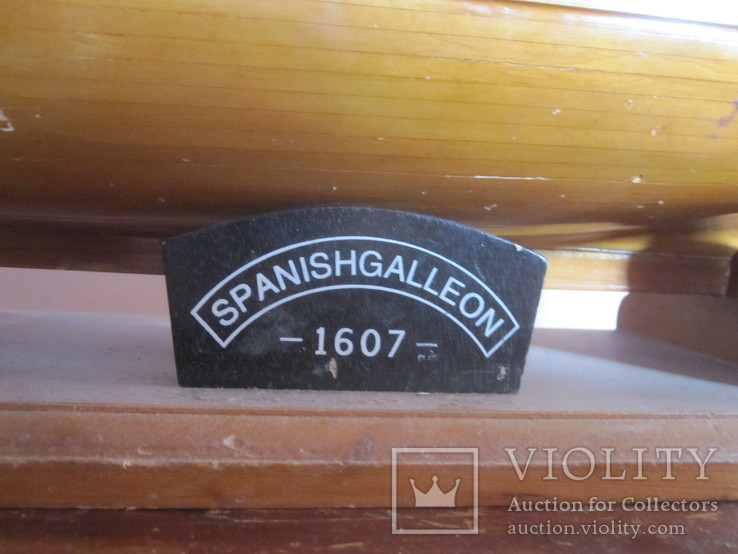 Модель парусника «SPANISH GALLEON 1607» . (под реставрацию ), фото №9
