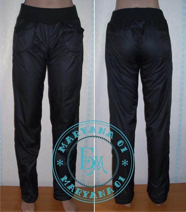 Зимние штаны на флисе очень тёплые размер S (42)