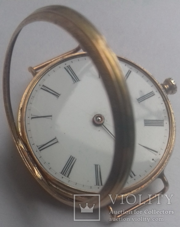 Часы , золотой корпус.