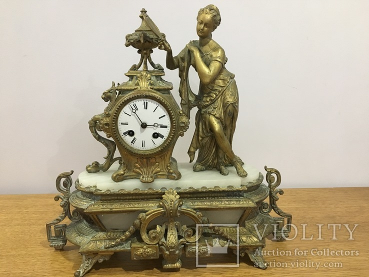 Камінний годинник 1855рік