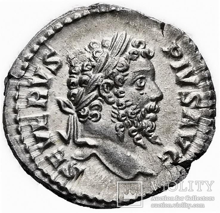Денарий Септимий Север 193-211 г. н.э.