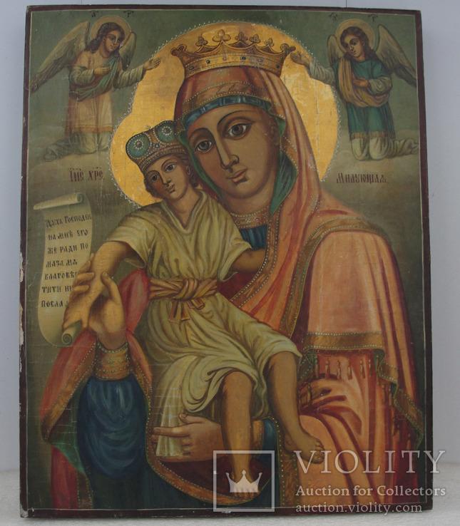 Икона Божией Матери «Милующая» (Достойно есть).