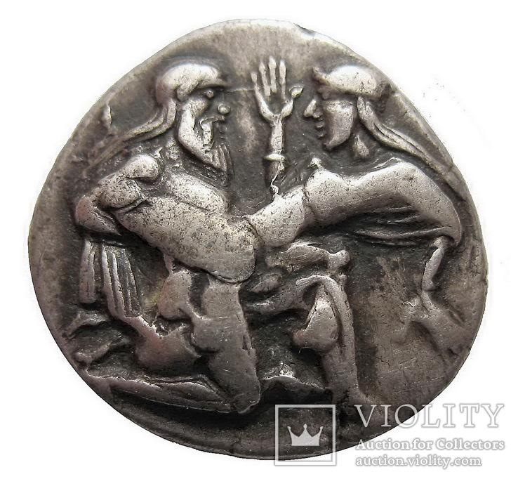 Статер Тракия Фасос (453-449 г. до н.э.)
