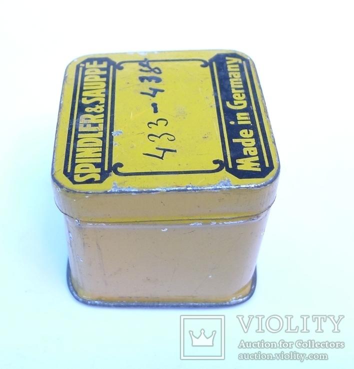 Немецкая жестяная коробочка Spindler & Sauppe, фото №7