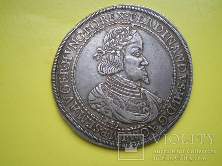 Двойной талер Фердинанда III 1641 года