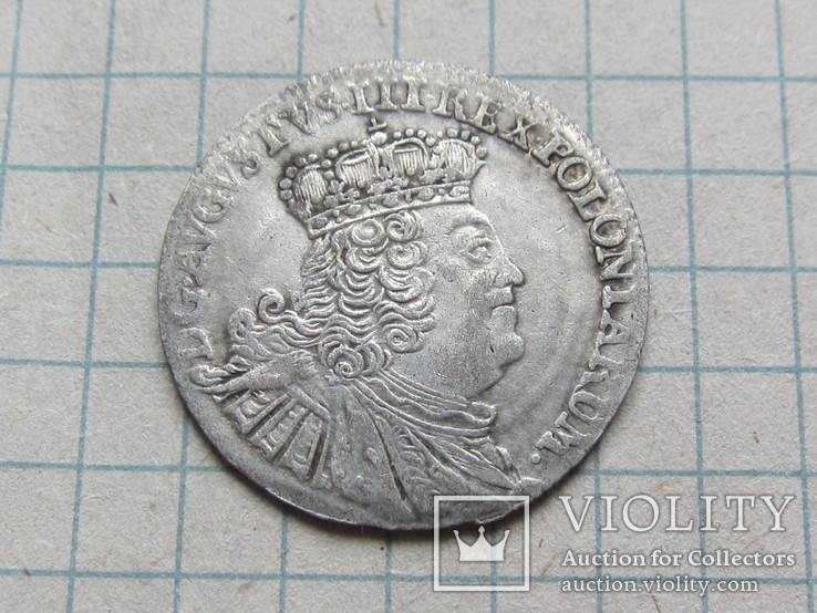 Шесть грошей 1755  Август 3