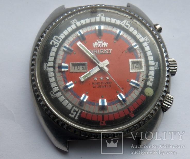Часы Orient King Diver донор.