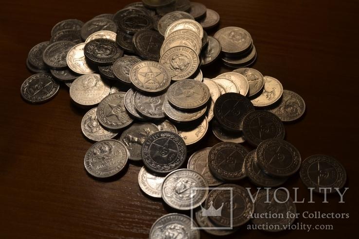Кладовые монеты 93 шт.