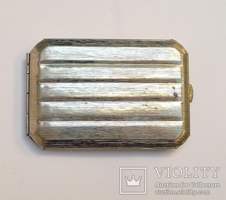 Портсигар магнитный металл., фото №2