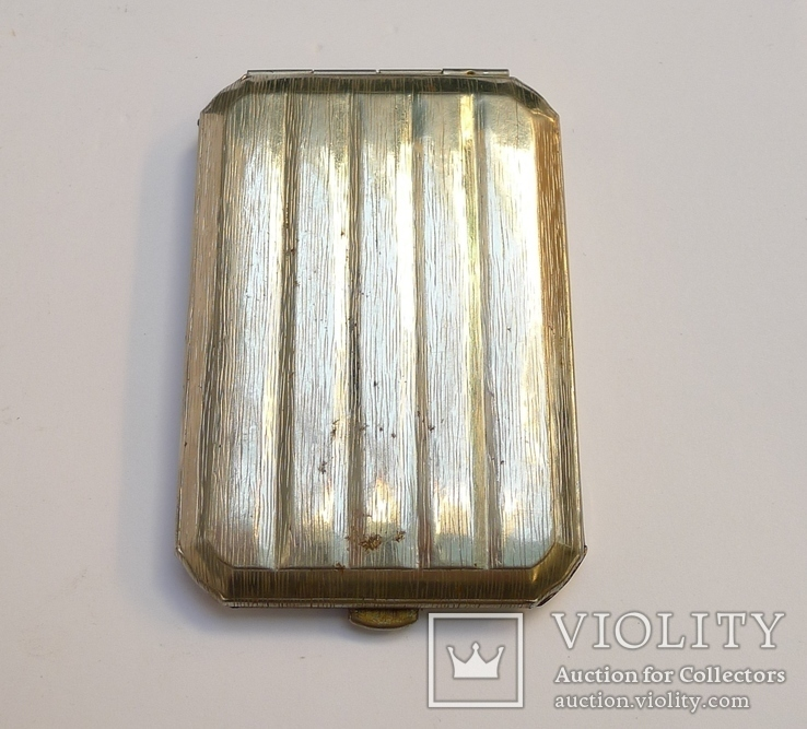 Портсигар магнитный металл., фото №3
