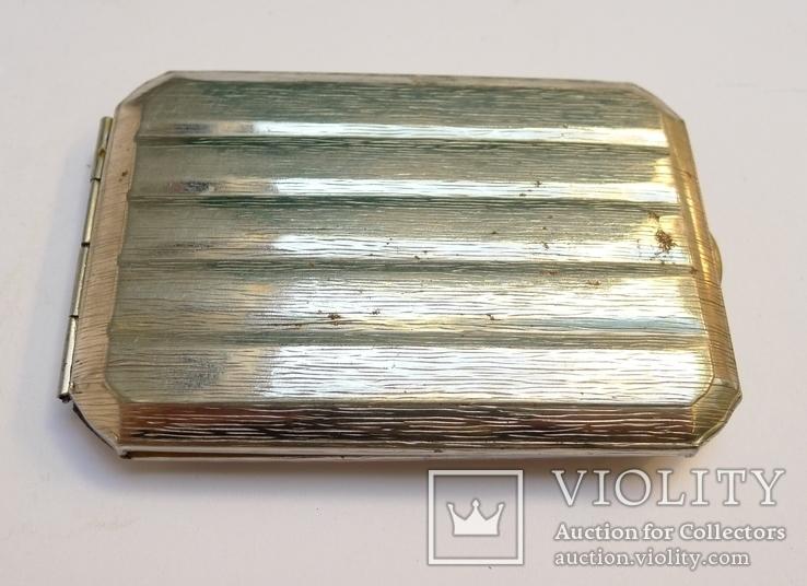 Портсигар магнитный металл., фото №5