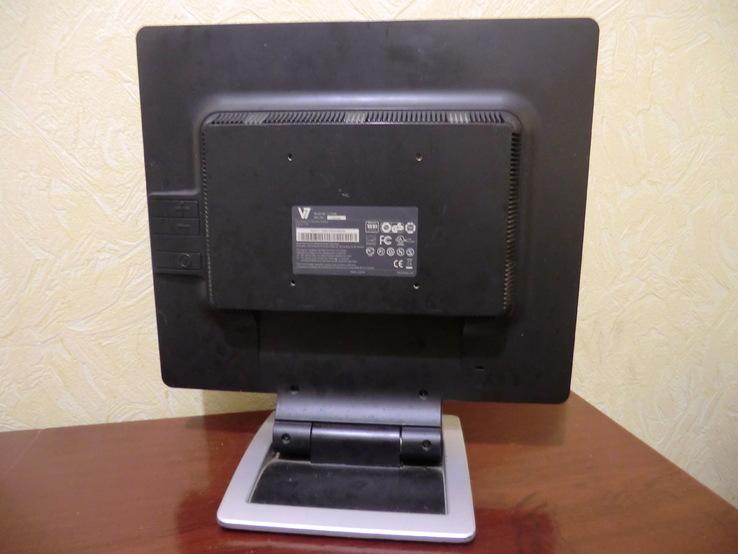 ЖК монитор 17 дюймов V7 L17GM Рабочий (17), фото №5
