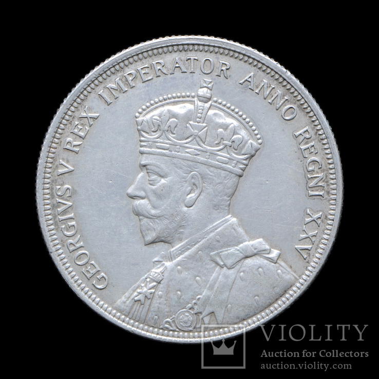 1 Доллар 1935 Каноэ, Канада