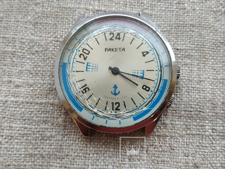 Часы Ракета 24 часа Вахтенные 2623.Н в ремонт