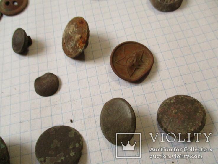 Пуговицы  лысые, разные 60 шт, фото №6