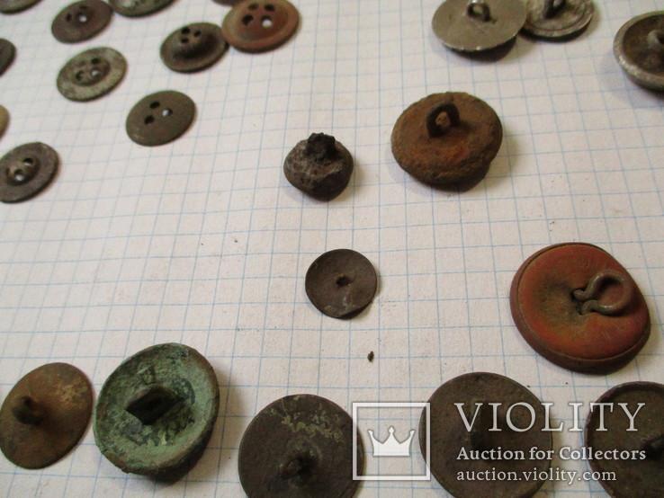 Пуговицы  лысые, разные 60 шт, фото №11