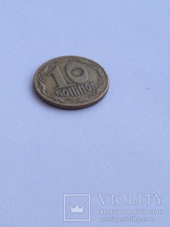 10 копеек 1992 р. 1.34ЕАм, итальянский шестиягодник.