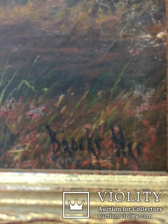 Картина ''Английский пейзаж'', Европа. Холст, масло. 55*41. Копия., фото №4