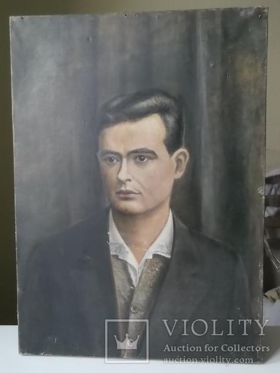 Г.Турчак портрет масло холст 45х60 см 1946 год