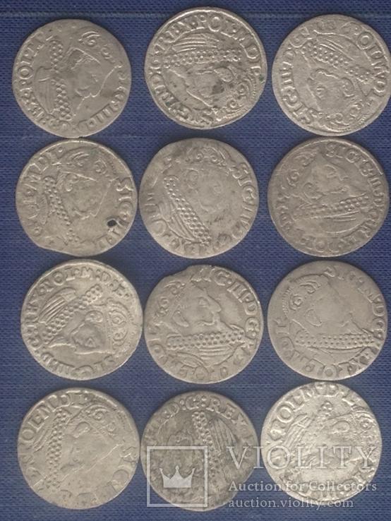 Трояки 1621 - 1624