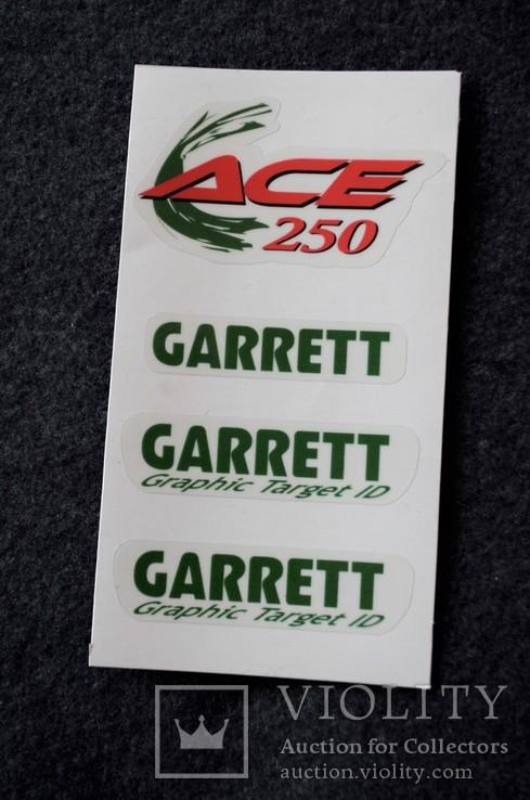 Наклейки Garrett ACE 250