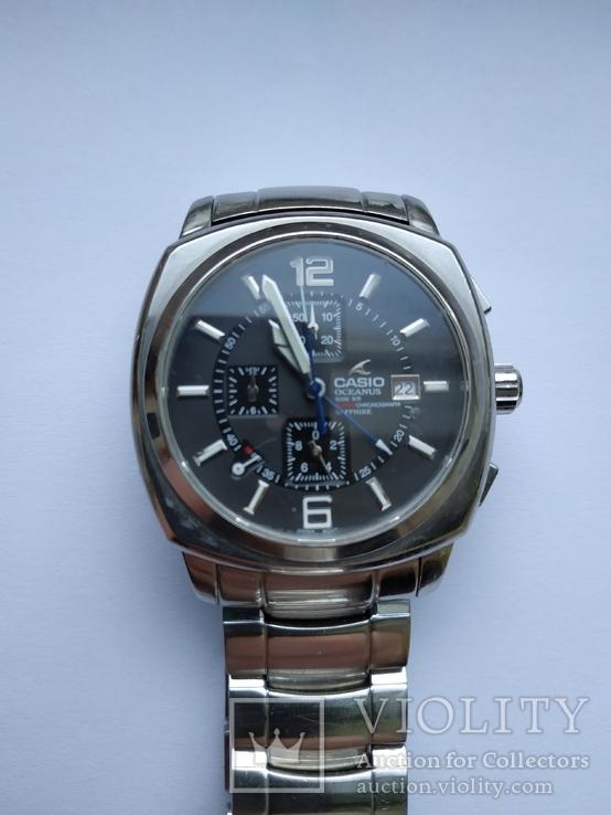 Часы Касио Casio okeanus хронограф 100 метров