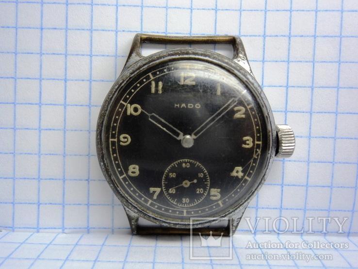 """Часы """"HADO"""" военный заказ период 3-го Рейха с маркировкой DH"""