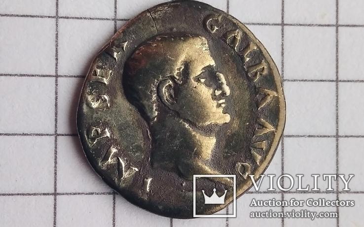 Рим, Денар, денарий Гальба