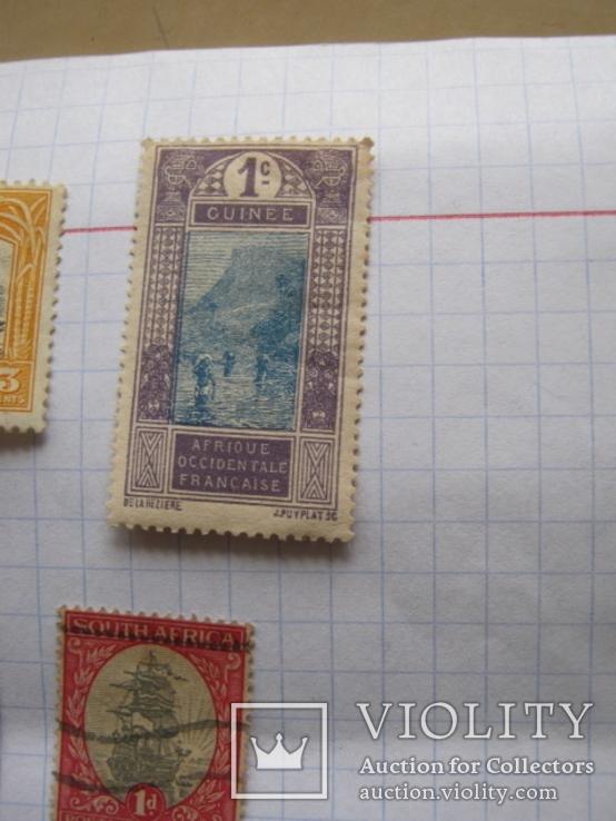 Марки Антигуа, Венгрии, Гвинеи , Колумбии и пр. 13 шт., фото №5