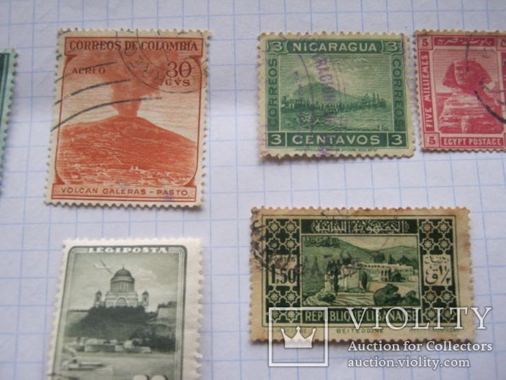 Марки Антигуа, Венгрии, Гвинеи , Колумбии и пр. 13 шт., фото №7