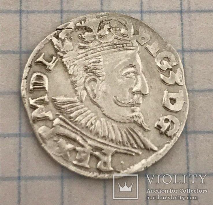 Трояк 1597г